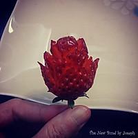 草莓玫瑰的做法图解12