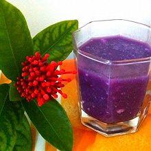 奶香紫薯羹