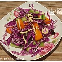 紫甘蓝沙拉的做法图解9