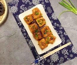 肉酿豆腐#春天肉菜这样吃#的做法