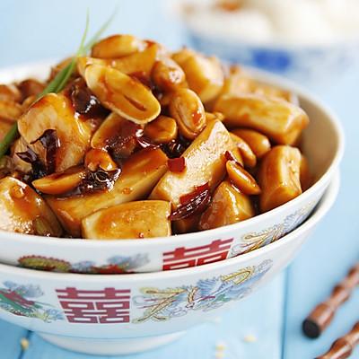 宫保杏鲍菇——豆果菁选酱油试用