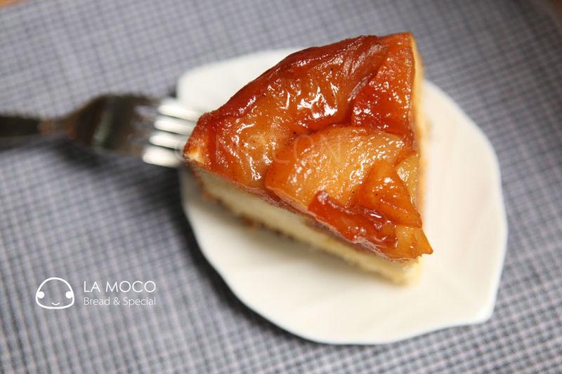 桂味反烤焦糖苹果蛋糕