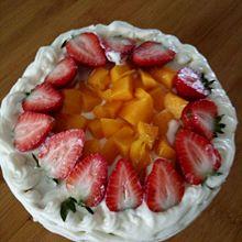 芒果草莓蛋糕