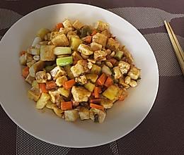 外脆里嫩的宫保豆腐的做法