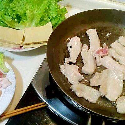 铁板五花肉(煎烤五花肉)