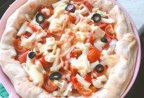 居家卷边小披萨#换着花样吃早餐#的做法