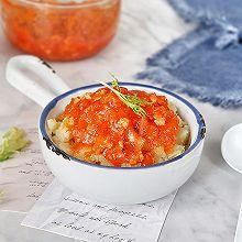茄汁鸡肉酱土豆泥