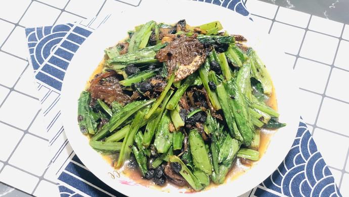 豆豉鲮鱼油麦菜———十分钟快手菜