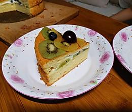 生日蛋糕(烫面戚风蛋糕)的做法