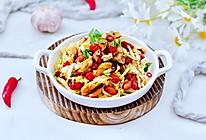 #合理膳食 营养健康进家庭#娃娃菜海虹凉拌菜的做法