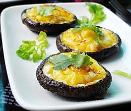 奶酪鹌鹑蛋烤香菇的做法