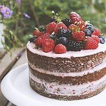 高颜值浆果莓蛋糕