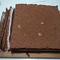 可可奶油果仁蛋糕#美的烤箱菜谱#的做法图解23