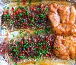 烤金针菇的做法