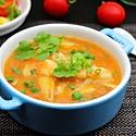 酸甜番茄狭鳕鱼汤