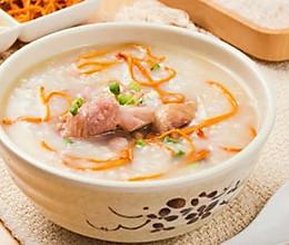 砂锅虫草花滑鸡粥夏天太热没胃口,我只要这碗粥!的做法
