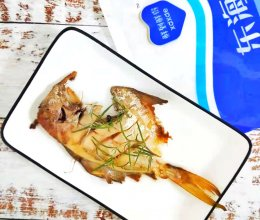 #一周减脂不重样#香煎鲳鱼 低脂低卡鲜香美味的做法