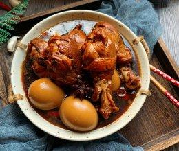 卤鸡腿和卤蛋双拼的做法