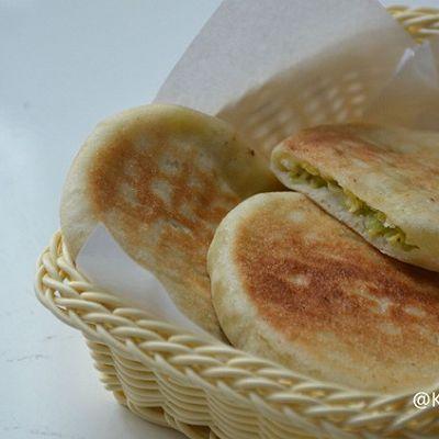 角瓜虾仁馅饼(皮薄馅足易消化)