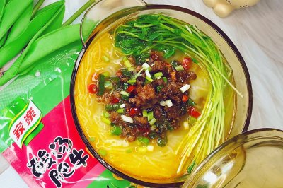 酸汤炸酱米线