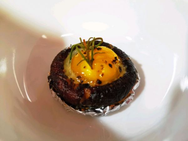 简单享美味--迷迭香烤香菇鹌鹑蛋的做法