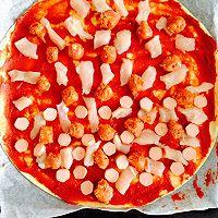简单做披萨的做法图解4