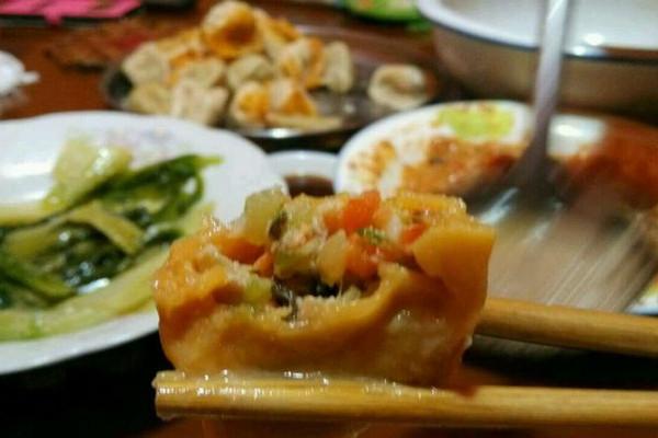 健康元宝水饺的做法