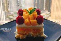 家庭式简约版戚风水果奶油蛋糕(超详细版)的做法