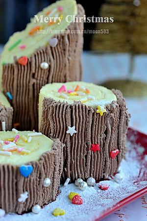 月亮晶晶的圣诞木桩蛋糕的做法的评论_怎么样_豆果美食