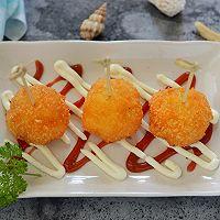 名厨菜谱-虾肉芝士球
