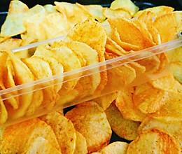 超级酥脆炸薯片的做法