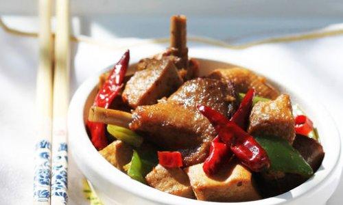 冻豆腐炖鸭的做法