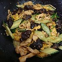 饭店热门菜|醋溜木须鸡片的做法图解9