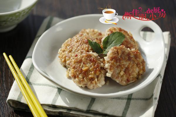 香煎莲藕饼的做法