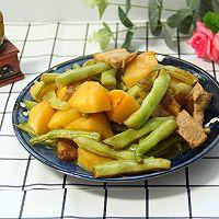 五花肉土豆芸豆炖的做法图解10
