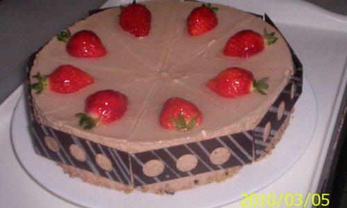 巧克力慕丝蛋糕的做法