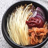 【零基础】【韩式】辣白菜肥牛汤的做法图解2
