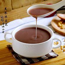 黑米浓豆浆#方太蒸爱行动#