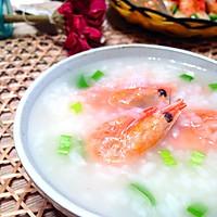 北极虾粥的做法图解4