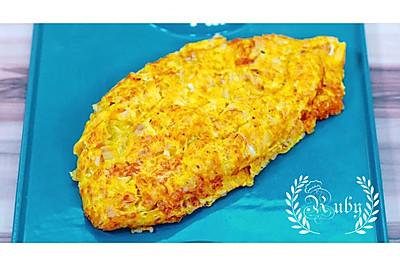 不一样的蛋包饭-咖喱鸡腿蛋包饭