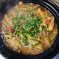 #我们约饭吧#肉末茄子煲的做法图解8