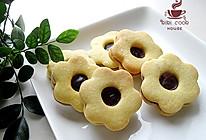 【蓝莓QQ糖果酱夹心饼干】#长帝烘焙节#的做法