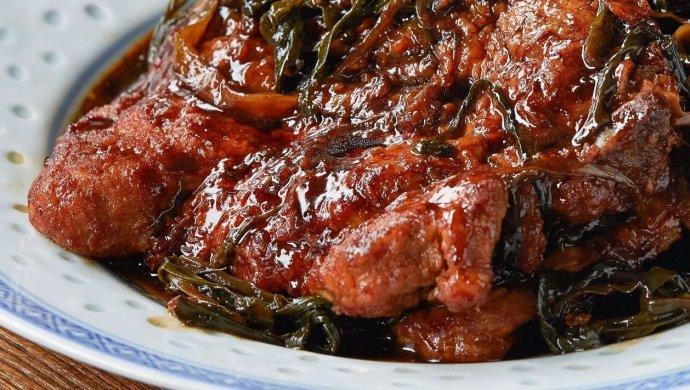 【葱㸆大排】一把小葱,烧出上海最经典的下饭菜!