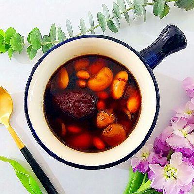 养生养颜美人羹-红枣花生桂圆芸豆汤