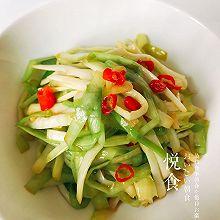 凉拌韭菜黄