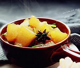 蚝油烧冬瓜#今天吃什么#的做法