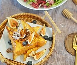 创意早餐|经典法式黄油吐司#花10分钟,做一道菜!#的做法