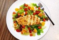 减脂鸡肉沙拉的做法