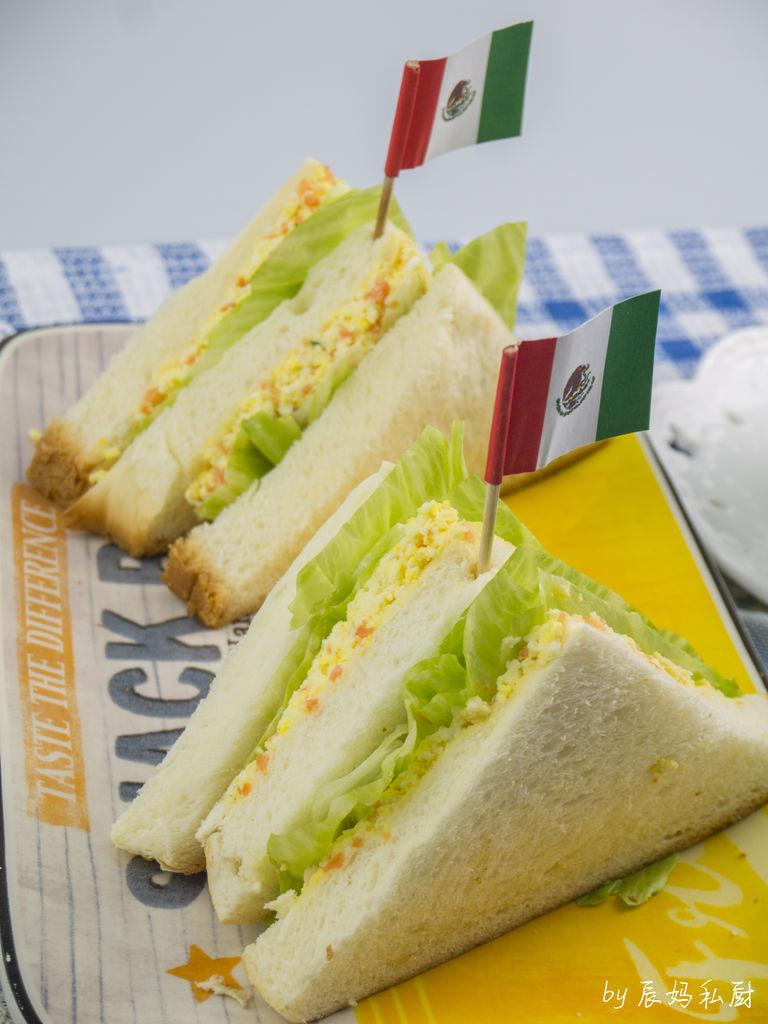 鸡蛋三明治的做法_【图解】鸡蛋三明治怎么做如何做