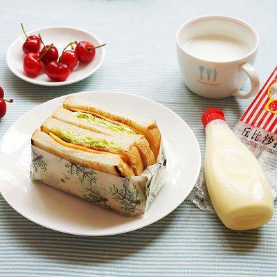 丘比沙拉酱-沼夫三明治